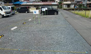 小松屋製菓 お客様専用駐車場
